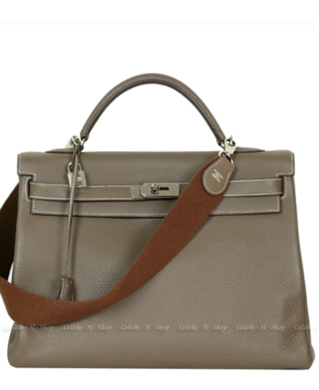 HERMES Etoupe Amazon Kelly 40